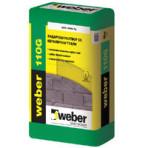 Разтвор за зидария на тухли 110 G – 40 кг. (Weber)