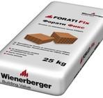 Лепило за керамични тухли Forati Fix – 25 кг. (Винербергер)