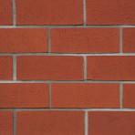 Клинкерна облицовъчна плочка набраздена Slab Natural 215*65*15  – червена (Isiklar)