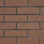 Клинкерна облицовъчна плочка набраздена Slab Natural 215*65*15  – кафява (Isiklar)
